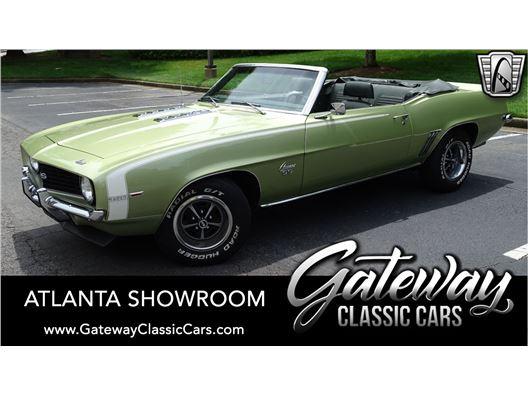 1969 Chevrolet Camaro SS for sale in Alpharetta, Georgia 30005