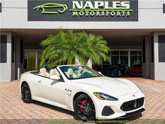 2018 Maserati Gran Turismo MC Convertible for sale in Naples, Florida 34104