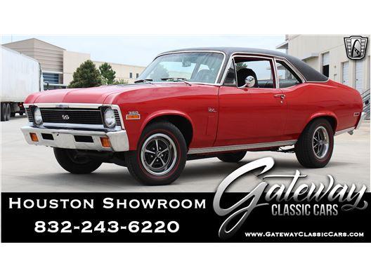 1972 Chevrolet Nova for sale in Houston, Texas 77090