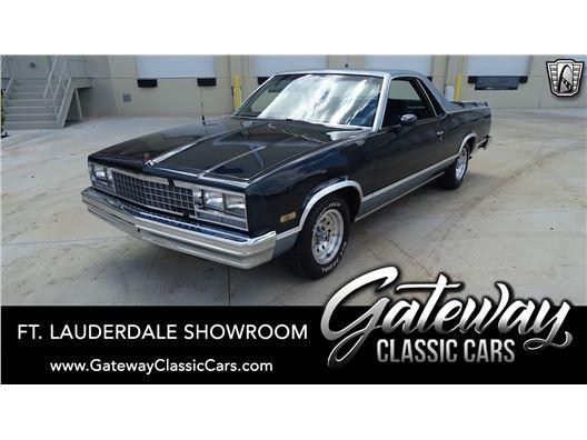 1985 Chevrolet El Camino for sale in Coral Springs, Florida 33065