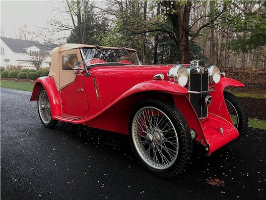 1934 MG PA Roadster for sale in Los Angeles, California 90063