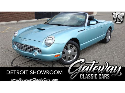 2002 Ford Thunderbird for sale in Dearborn, Michigan 48120