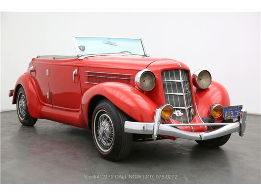 1935 Auburn 653 Convertible Sedan for sale in Los Angeles, California 90063