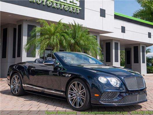 2016 Bentley Continental GT GTC Speed for sale in Naples, Florida 34104