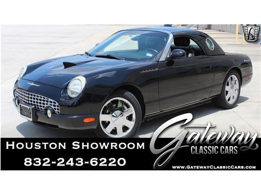 2002 Ford Thunderbird for sale in Houston, Texas 77090