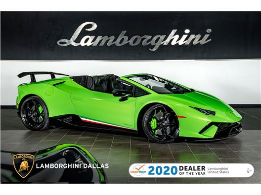 2018 Lamborghini Huracan Performante Spyder for sale in Richardson, Texas 75080