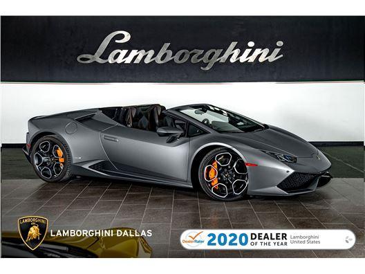 2017 Lamborghini Huracan LP610-4 Spyder for sale on GoCars.org