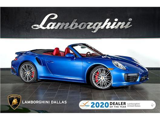 2017 Porsche 911 Turbo for sale in Richardson, Texas 75080