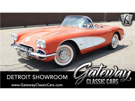 1958 Chevrolet Corvette for sale in Dearborn, Michigan 48120