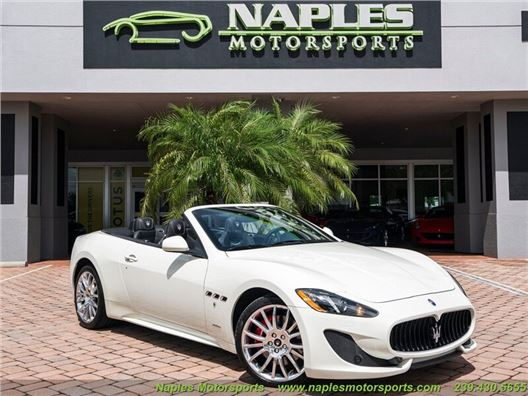 2016 Maserati Gran Turismo Sport Convertible for sale in Naples, Florida 34104