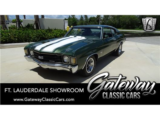 1972 Chevrolet Chevelle for sale in Coral Springs, Florida 33065