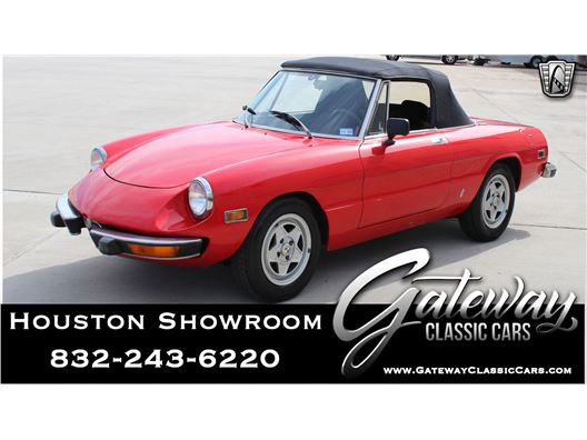 1974 Alfa Romeo Spider for sale in Houston, Texas 77090
