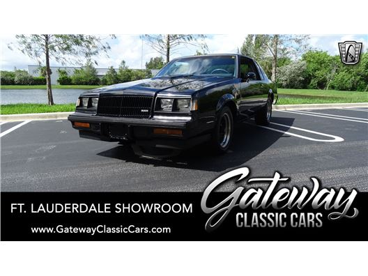 1987 Buick Grand National for sale in Coral Springs, Florida 33065