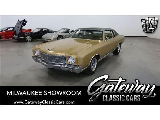1970 Chevrolet Monte Carlo for sale in Kenosha, Wisconsin 53144