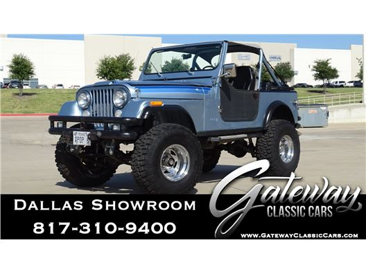 1982 Jeep CJ7 for sale in DFW Airport, Texas 76051