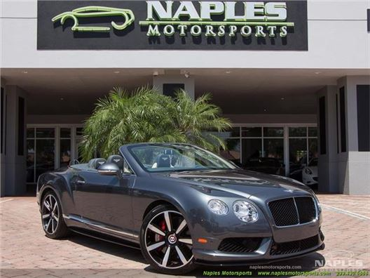 2014 Bentley Continental GT GTC V8 S for sale in Naples, Florida 34104