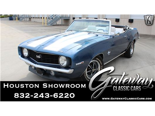 1969 Chevrolet Camaro SS for sale in Houston, Texas 77090