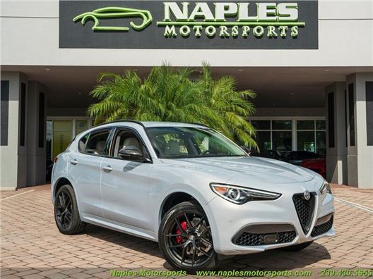 2020 Alfa Romeo Stelvio Sport for sale in Naples, Florida 34104