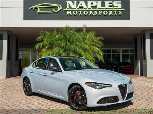 2020 Alfa Romeo Giulia for sale in Naples, Florida 34104