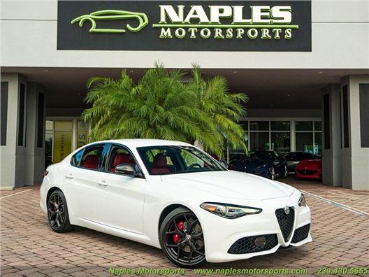 2020 Alfa Romeo Giulia Sport for sale in Naples, Florida 34104