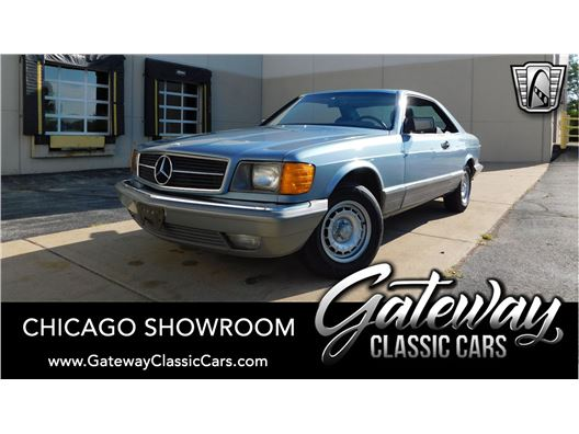 1985 Mercedes-Benz 500SEC for sale in Crete, Illinois 60417