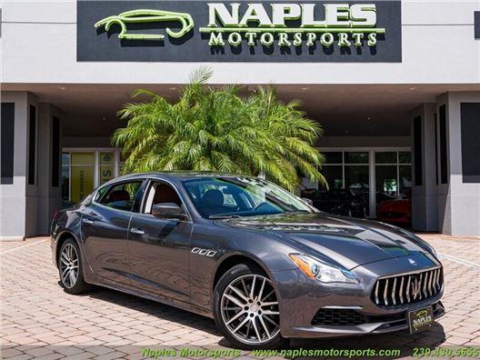 2017 Maserati Quattroporte S Q4 GranLusso for sale in Naples, Florida 34104