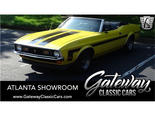 1971 Ford Mustang for sale in Alpharetta, Georgia 30005