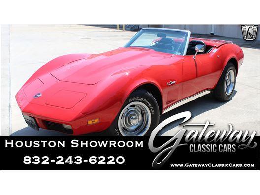 1974 Chevrolet Corvette for sale in Houston, Texas 77090