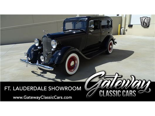 1933 ASVE 1933 PLYMOUTH SEDAN PD for sale in Coral Springs, Florida 33065