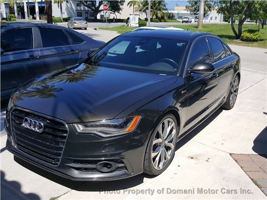 2013 Audi A6 for sale in Deerfield Beach, Florida 33441