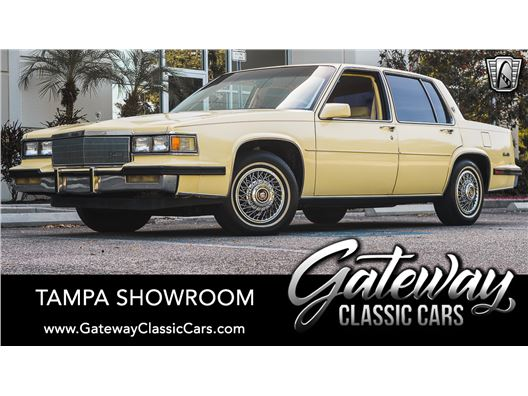 1985 Cadillac DeVille for sale in Ruskin, Florida 33570