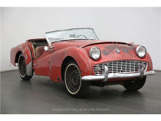 1963 Triumph TR3 for sale in Los Angeles, California 90063