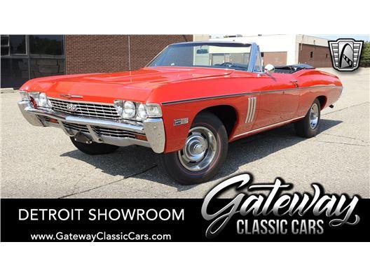 1968 Chevrolet Impala for sale in Dearborn, Michigan 48120