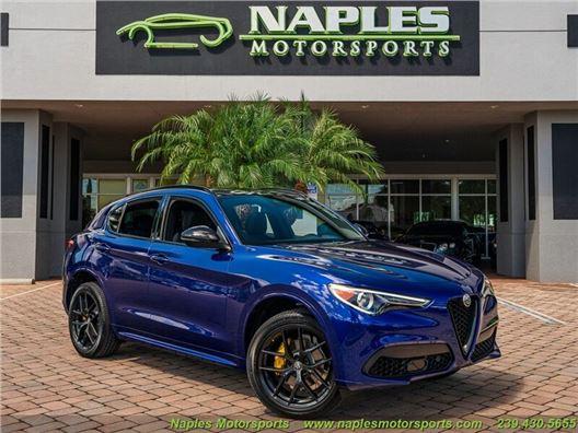 2020 Alfa Romeo Stelvio Ti for sale in Naples, Florida 34104