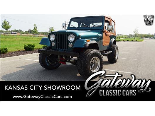1983 Jeep CJ7 for sale in Olathe, Kansas 66061