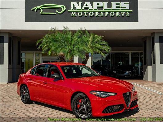2020 Alfa Romeo Giulia Ti Sport for sale in Naples, Florida 34104