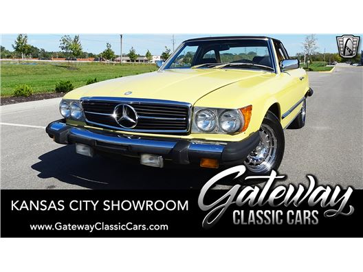 1981 Mercedes-Benz 380SL for sale in Olathe, Kansas 66061