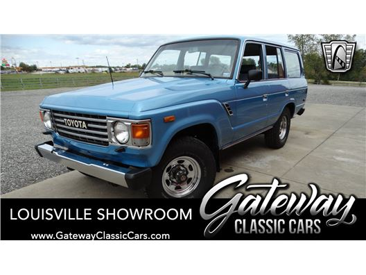 1984 Toyota Land Cruiser for sale in Memphis, Indiana 47143