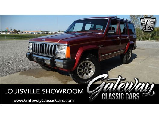 1986 Jeep Cherokee for sale in Memphis, Indiana 47143