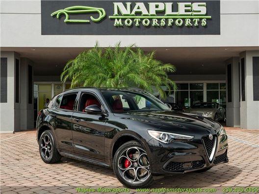 2020 Alfa Romeo Stelvio Ti Sport for sale in Naples, Florida 34104