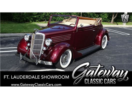 1935 Ford Deluxe Cabriolet for sale in Coral Springs, Florida 33065