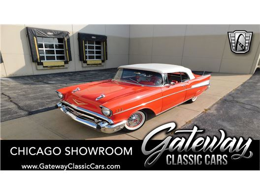 1957 Chevrolet Bel Air Convertible for sale in Crete, Illinois 60417