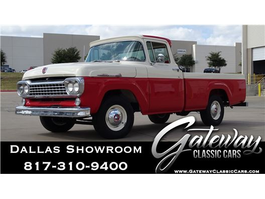 1958 Ford F100 for sale in DFW Airport, Texas 76051