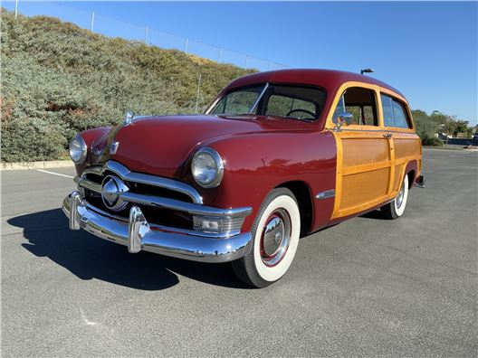 1950 Ford Custom Deluxe Woody for sale in Benicia, California 94510