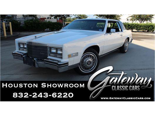 1985 Cadillac Eldorado for sale in Houston, Texas 77090
