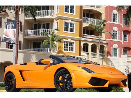 2010 Lamborghini Gallardo LP 560-4 Spyder for sale on GoCars.org