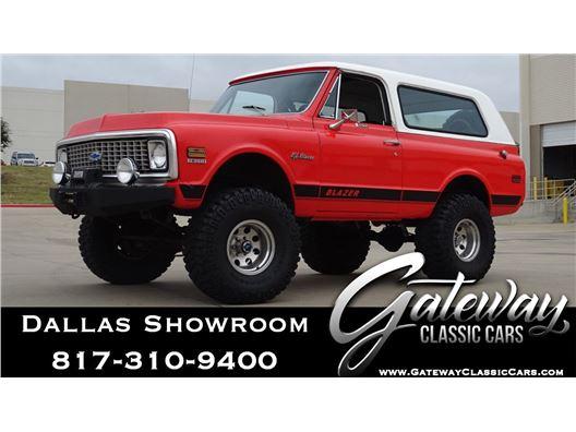1972 Chevrolet Blazer for sale in DFW Airport, Texas 76051