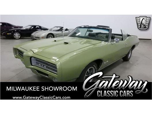 1969 Pontiac GTO Convertible for sale in Kenosha, Wisconsin 53144