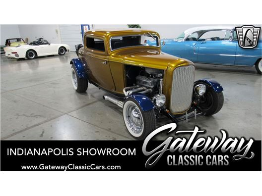 1932 Ford 3 Window for sale in Indianapolis, Indiana 46268