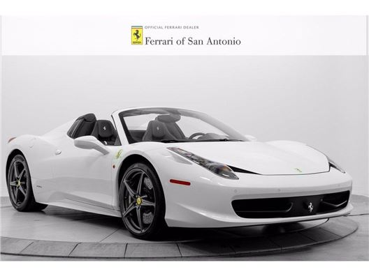 2014 Ferrari 458 Spider for sale in San Antonio, Texas 78249